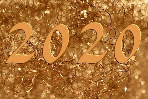 2020年の文字